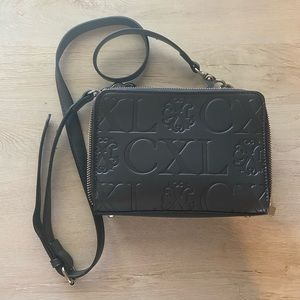 Christian Lacroix Dark Gray Crossbody